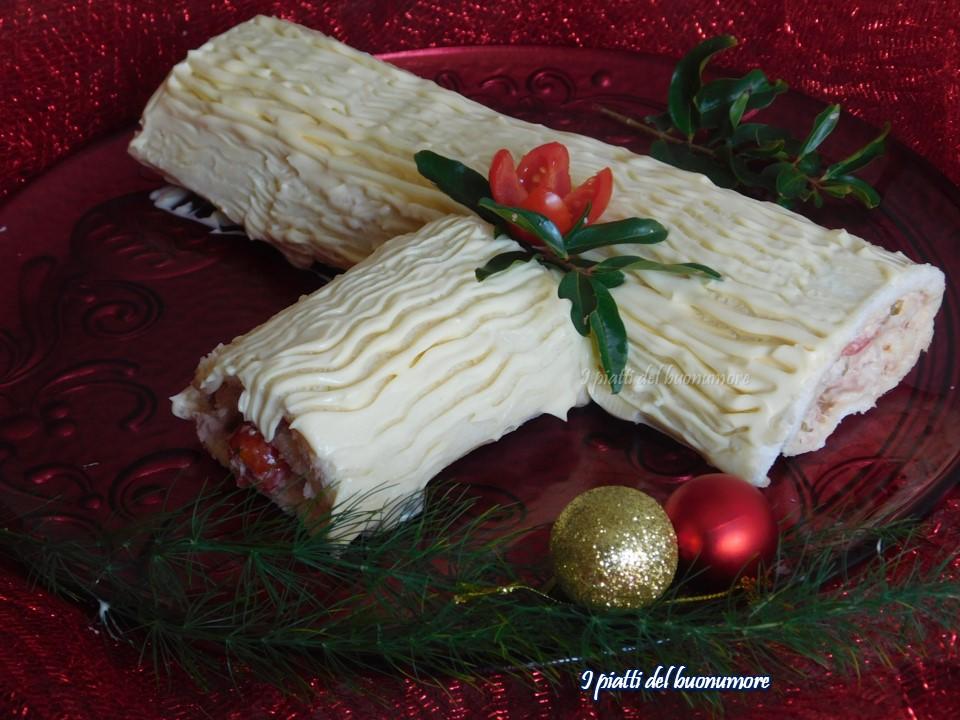 Tronco Di Natale Youtube.Tronchetto Di Natale Salato I Piatti Del Buonumore